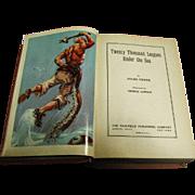 "Vintage 1935 Jules Verne ""Twenty Thousand Leagues Under The Sea"" 1st Saalfield"
