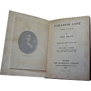 1902, Paradise Lost - books 1 & 2 by John Milton, Pocket Series