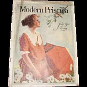 SOLD Modern Priscilla Magazine, July 1924