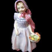 "SALE Mid Century Royal Doulton Bone China ""Wendy"" 5"" Figurine"