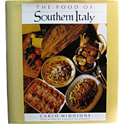 The Food of Southern Italy by Carlo Middione (1987 Hardcover)
