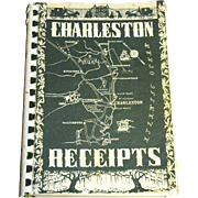 Charleston Receipts by the Junior League of Charleston South Carolina. This 1950 edition was f