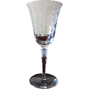 Libbey Rock Sharpe #2010-2 Polished Cut Iced Water Goblet (up to 8 available)