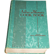 1939 The American Woman's Cook Book by Consolidated Book Publisher, Edited by Ruth Berolzheime