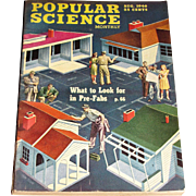 August 1946 Popular Science Magazine- 1947 Studebaker, Pre-Fabs, Puppet Factory, Culver Model