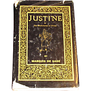 1964, Justine or The Misfortunes of Virtue by Marquis de Sade, Rare