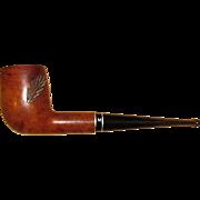 Medico Medalist Imported Briar Smoking Pipe, w/ Carved Pine Limb Design