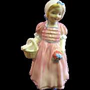 Circa 1960's Royal Doulton Tinkle Bell Girl Figurine, HN 1677