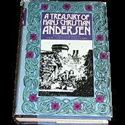 A Treasury of Hans Christian Andersen, 72 Stories - (HBDJ) 1974, Near Mint