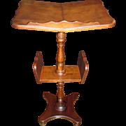 SALE PENDING Vintage Wooden Lectern, Bible or Cookbook Floorstand made by Butler