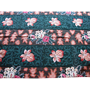 4' by 6' Hand Stitched Retro Modern Wool Needlepoint Area Rug