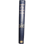 1916,  Darwin and After Darwin - Exposition of Darwinian Theory by George John Romanes