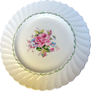 "Royal Staffordshire Clarice Cliff Janice 10"" Dinner or Cabinet Plate"