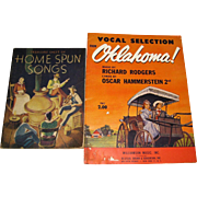 1943, Vocal Selection from Oklahoma! Music by Richard Rodgers Lyrics by Oscar Hammerstein & ..