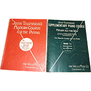 1936, John Thompson's Modern Course for the Piano - The First Grade Book & John Thompson ...