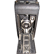 Antique Number 1A Ansco Junior folding bellows camera---last patent date of 1916