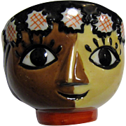 Whimsical Yoko Boeki Nippon Tea or Sake Face Cup