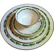Franciscan China Five Piece Place Setting Arcadia Green (up to 12 available)