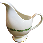 Creamer in Arcadia Green by Franciscan China