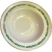 Franciscan Arcadia Green Rimmed Fruit Dessert Bowl (10 available)