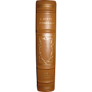 The Stories of F. Scott Fitzgerald, Leather Bound, Franklin Library, 1977, Limited Edition. A