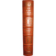 The Caine Mutiny by Herman Wouk, Signed by Author, Leather Bound, Franklin Library 1977, Like