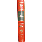 Guy de Maupassant Stories, Franklin Library, Full Leather, Worlds Greatest Writers