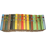 "1950"",  22 Vintage Junior Deluxe Editions Children's Books"