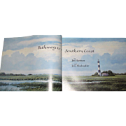 Pathways to a Southern Coast by Jim Harrison and Jerry Blackwelder, HC 1986 1st Edition