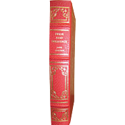 """1980 """"Pride and Prejudice"""" Jane Austen Franklin Library Limited Edition, Leatherette"""