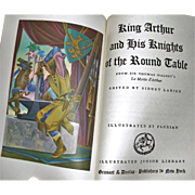 King Authur and His Knights of the Round Table ed. by Sidney Lanier,1976, 3rd ...