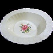 """Vintage Copeland Spode Jewel 10"""" Oval Vegetable Bowl Billingsley Rose"""