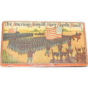 1909, The American Army and Navy Needle Book, Illustrations of Spanish American War
