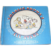 Charlie Brown's All - Stars by Charles M. Schulz, 1st Edition, 1966, Baseball Cartoons. ...