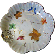 SALE Beautiful Nippon Lustre Butterfly Gilt Plate