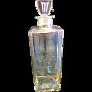 Circa 1930's Signed Large Innoxa Barber Shop Bottle