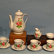 "Child's or Doll's Tea Set marked ""Germany"""