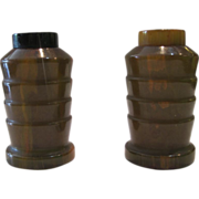 Bakelite Deco Salt & Pepper Shakers