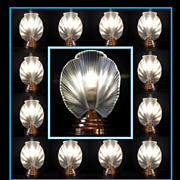 REDUCED Exceptional 1930s French Art Deco Lamp by Pierre d'Avesn. MINT Condition