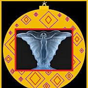 SOLD SENSATIONAL 1930s German Art Deco Butterfly –Schmetterling pattern Vase by Walther & So
