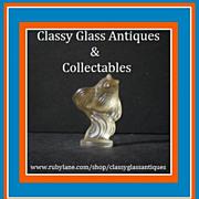 Sabino Crystal Glass Fish Figurine 'Poisson L'eglefin'