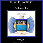 SOLD First Edition LALIQUE Les Introuvables Perfume Bottle Presentation – Complete