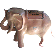 Pink Elephant Mechanical Bank, First National Bank of Los Angeles