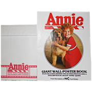 SALE 1982 Annie Giant Coca-Cola Wall-Poster Book