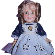 SALE 1982 Ideal's Littlest Rebel Shirley Temple Doll
