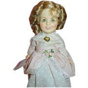 SALE 1982 Ideal's Littlest Colonel  Shirley Temple Doll