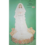 "SALE Vintage Hallmark ""Bride"" Centerpiece"