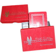 SALE American Airlines First Class Playing Cards