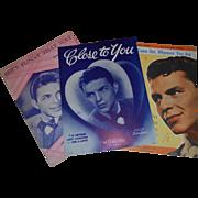 SALE Vintage Frank Sinatra Sheet Music