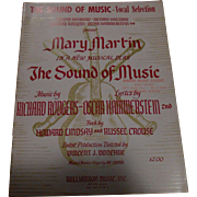 The Sound Of Music, Vocal Selection Book